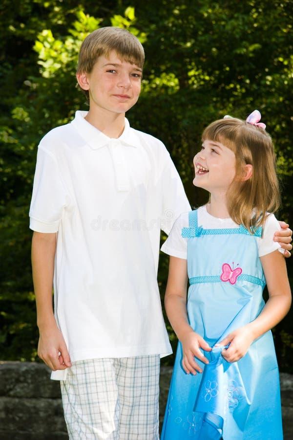 Sibling Liefde royalty-vrije stock afbeeldingen