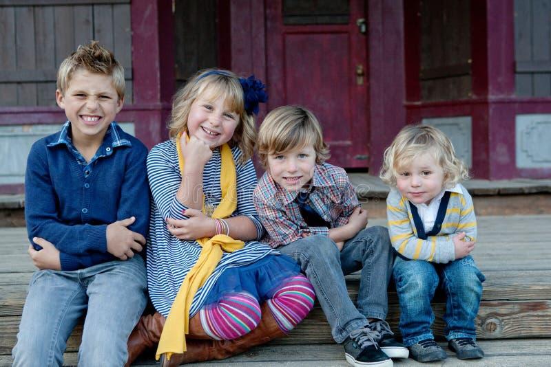 Sibling Liefde stock afbeelding