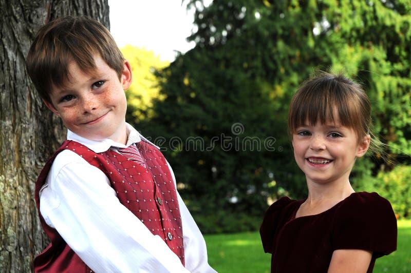 siblings foto de stock royalty free