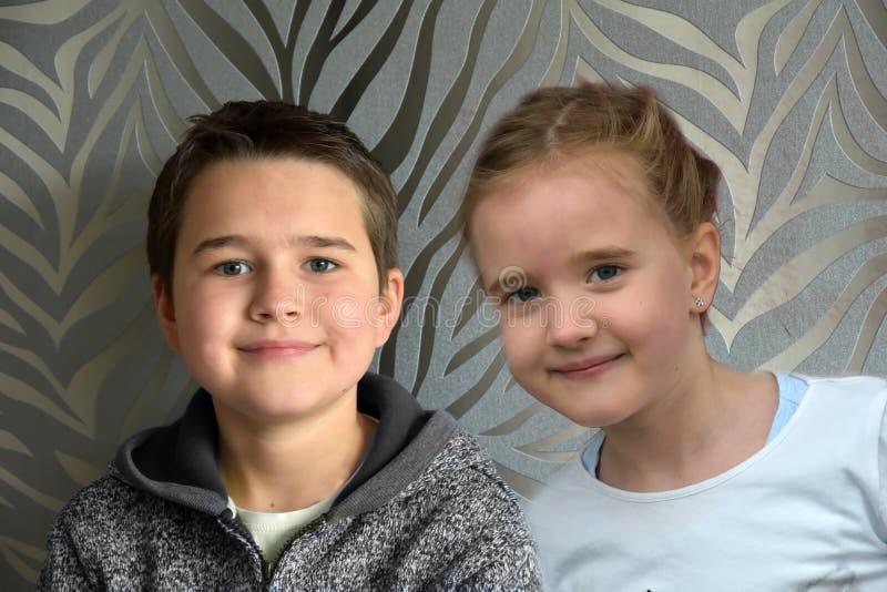 siblings fotografia de stock royalty free