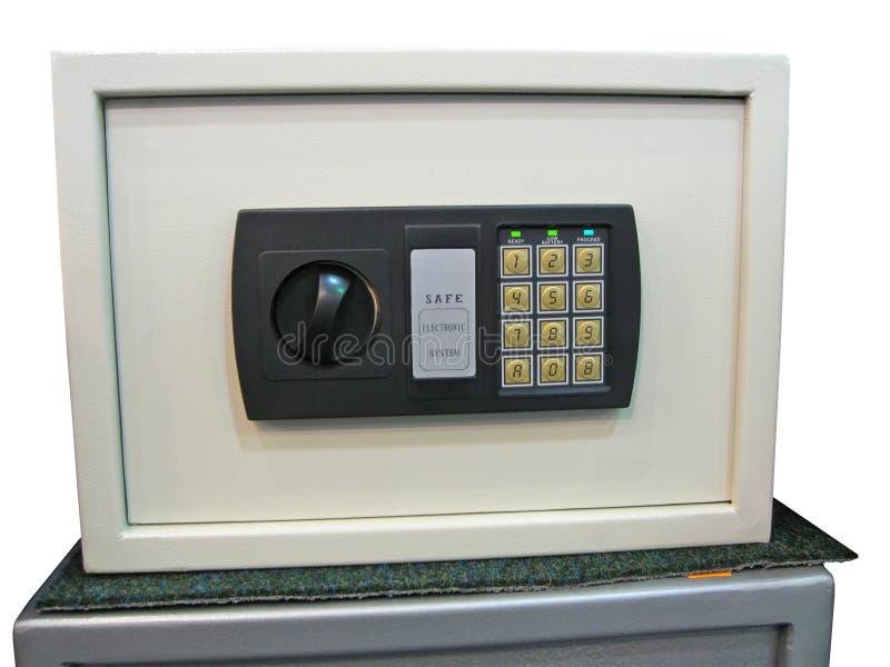 Sichere Schlüsselverriegelung, Sparungen, Basissteuerpult, Sicherheit lizenzfreies stockfoto