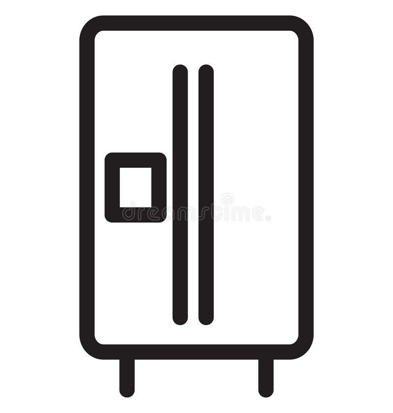 Sichere Vektor-Illustration der einzelnen Zeile stock abbildung