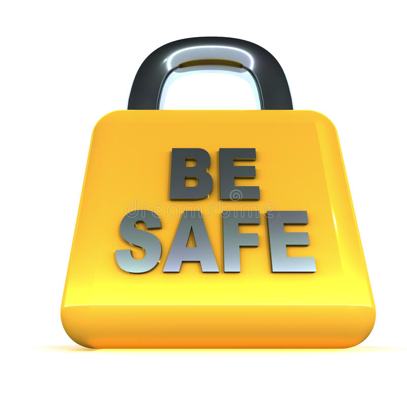 Sicherheit lizenzfreie abbildung