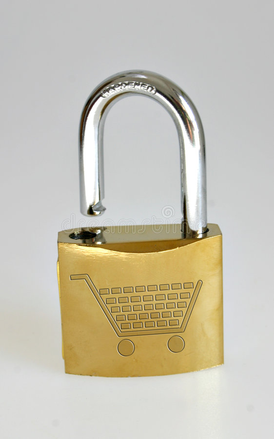 Sicherheit als Geschäft lizenzfreies stockfoto