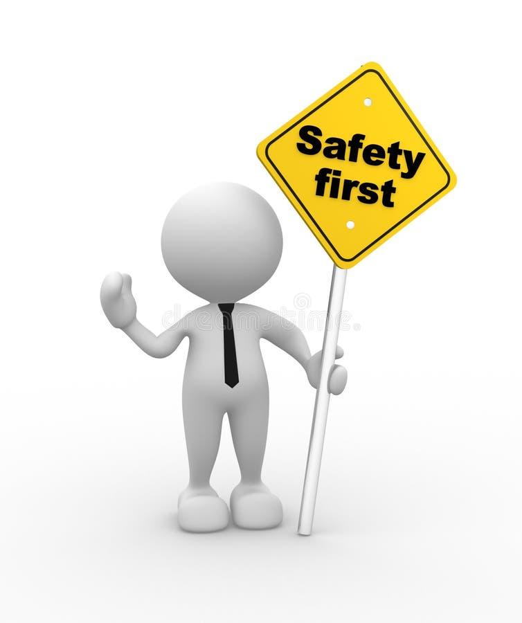 Sicherheit erste lizenzfreie abbildung