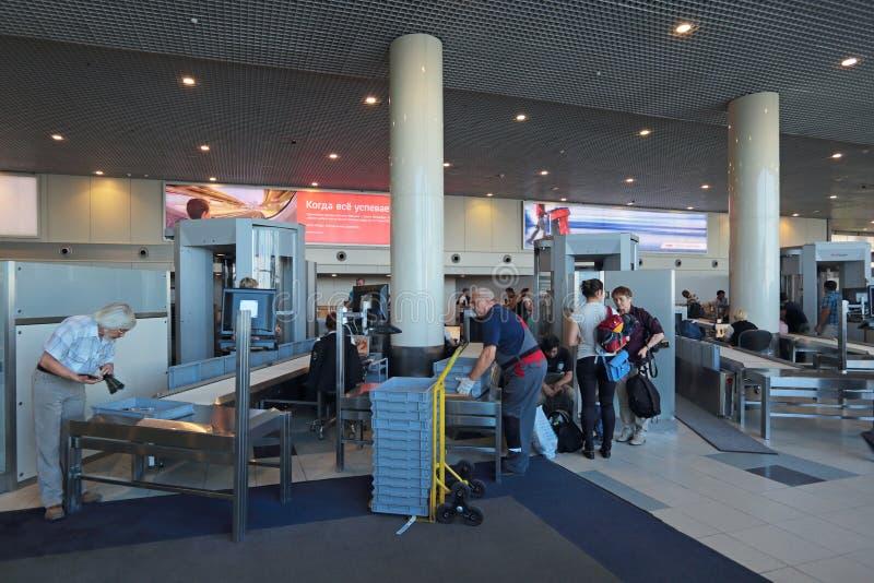 Sicherheit am Flughafen lizenzfreie stockbilder
