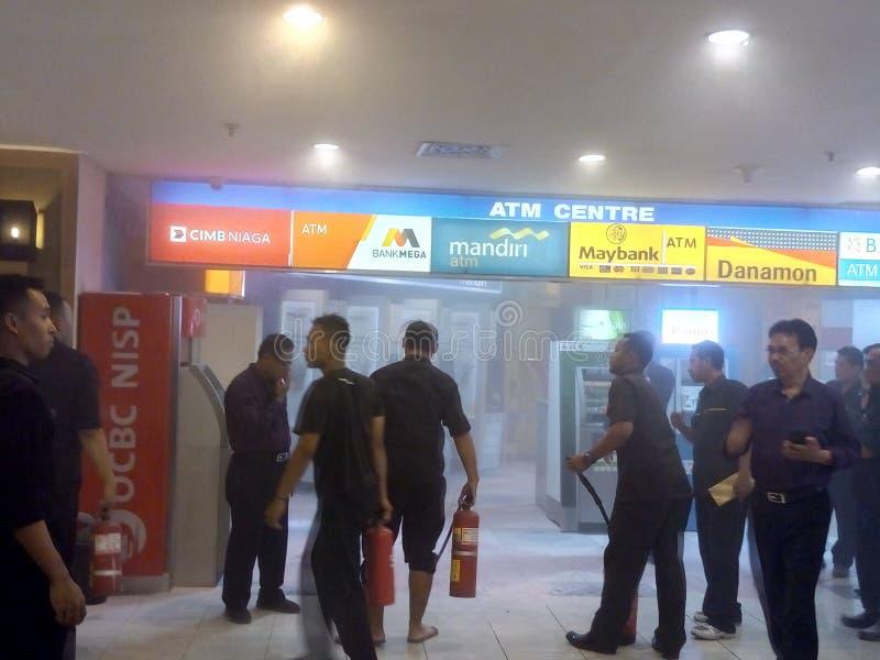 Sicherheit am Mall lizenzfreies stockfoto