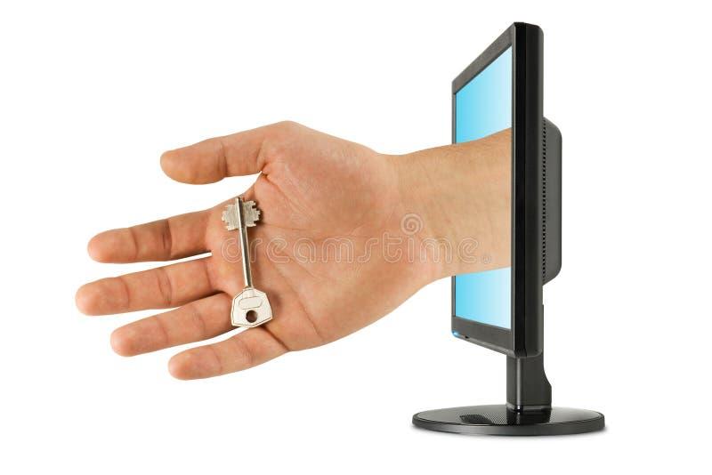 Sicherheit und Computertechnologie lizenzfreie stockbilder