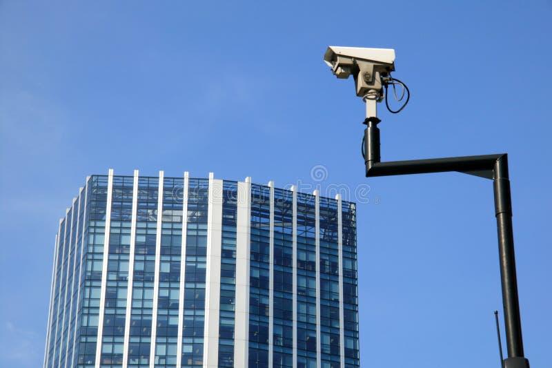 Sicherheits-Überwachungskamera lizenzfreies stockfoto