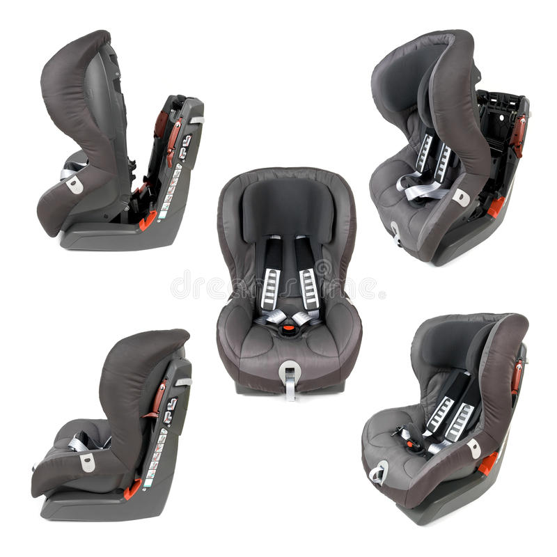 Sicherheits-Auto-Seat-Sammlung lizenzfreies stockbild