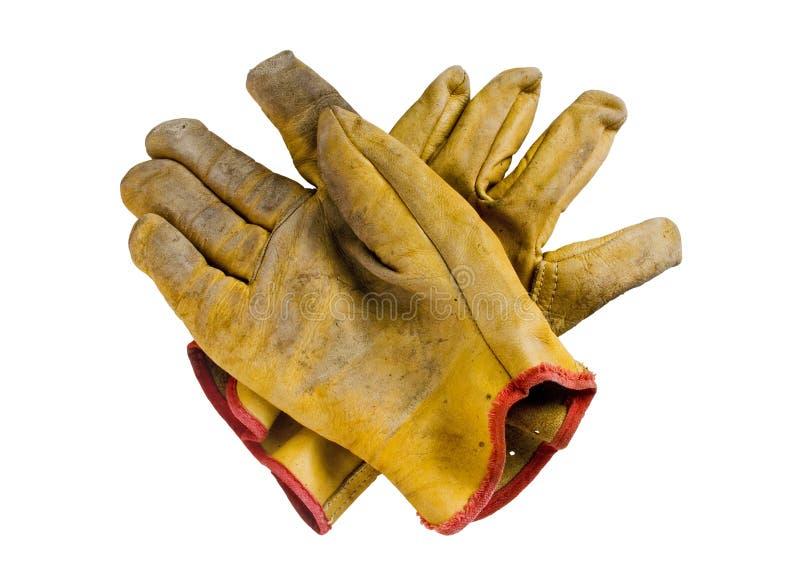 Sicherheits-Handschuhe lizenzfreie stockfotos