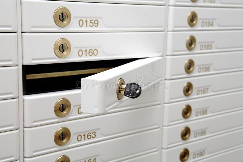 Sicherheits-Kasten stockfoto