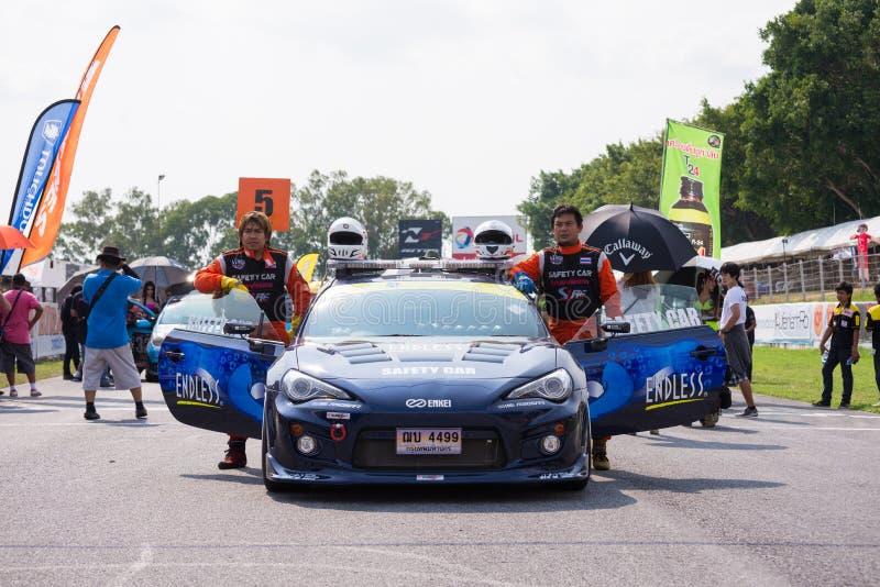Sicherheitsautofahrer Toyota GT86 lizenzfreie stockfotografie