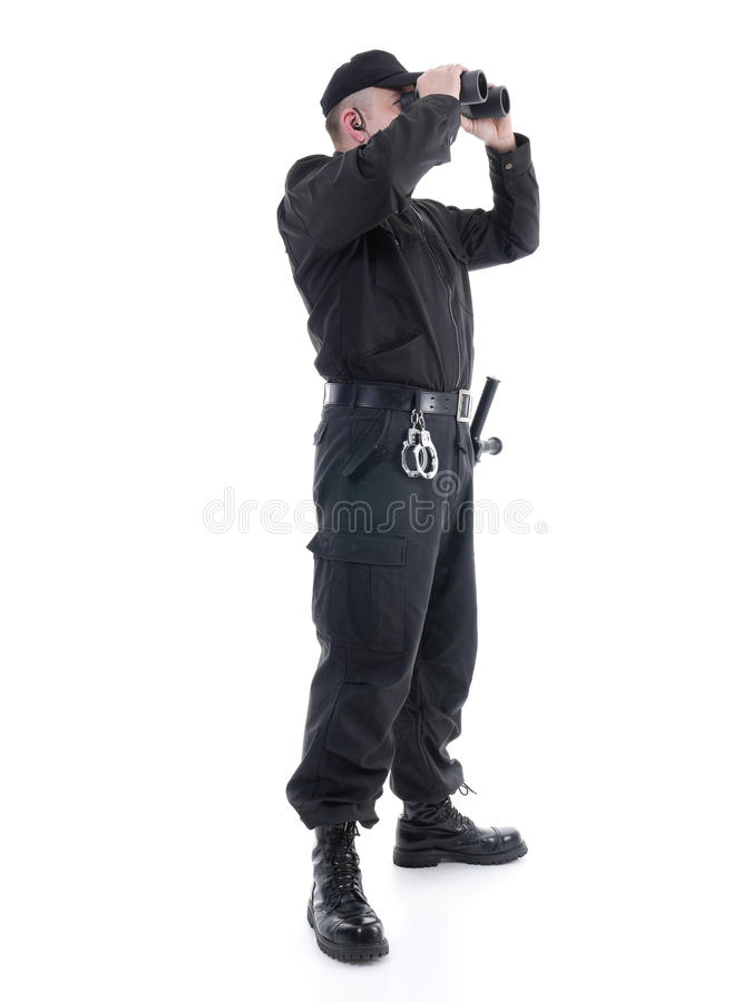 Sicherheitsbeamte lizenzfreies stockfoto
