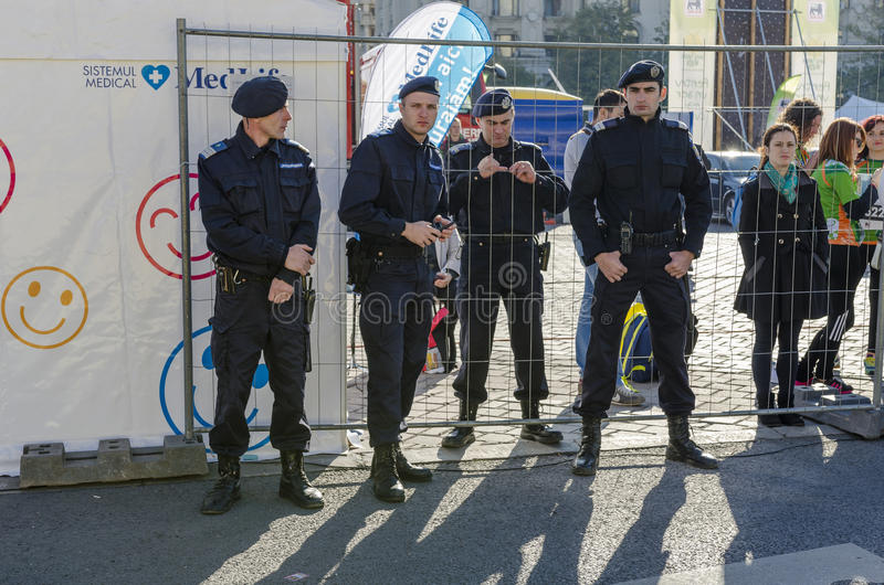 Sicherheitsbeamten lizenzfreies stockbild