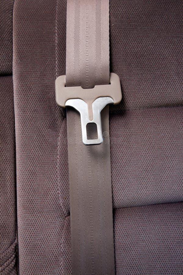 Sicherheitsgurt im Auto stockbilder