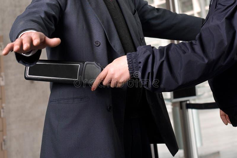 Sicherheitskontrolle lizenzfreie stockfotografie