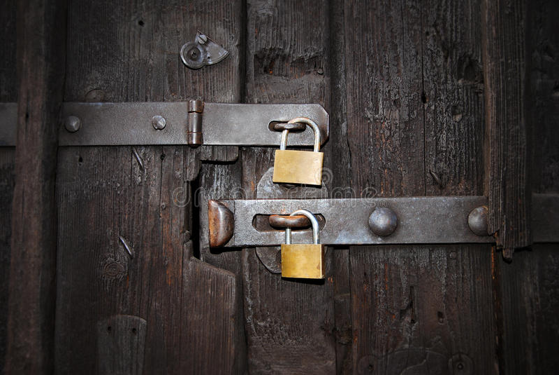 Sicherheitsschlösser lizenzfreie stockfotografie
