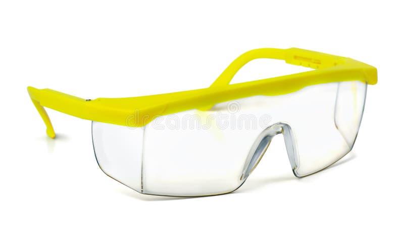Sicherheitsschutzbrillen stockbild