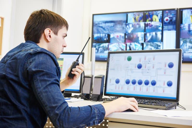 Sicherheitsvideoüberwachung lizenzfreies stockbild
