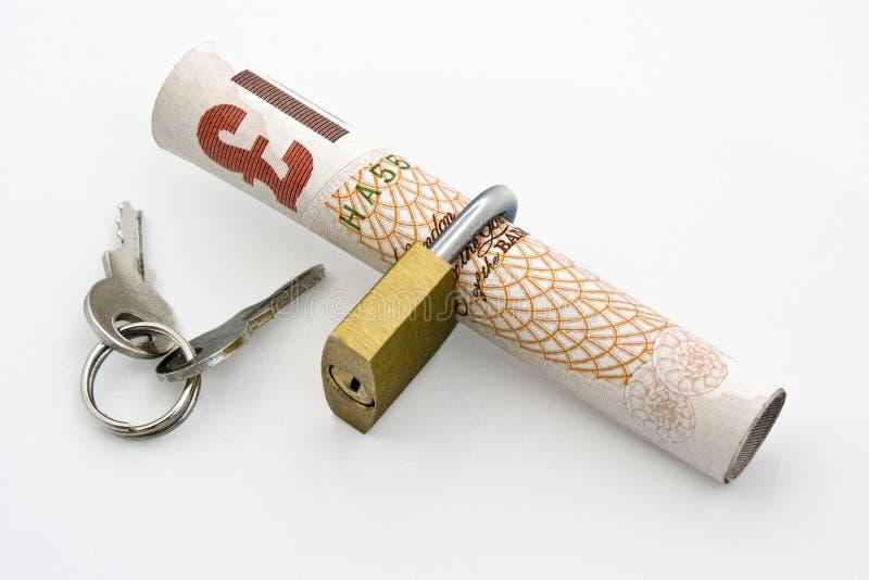 Sichern Sie Zahlung lizenzfreies stockbild