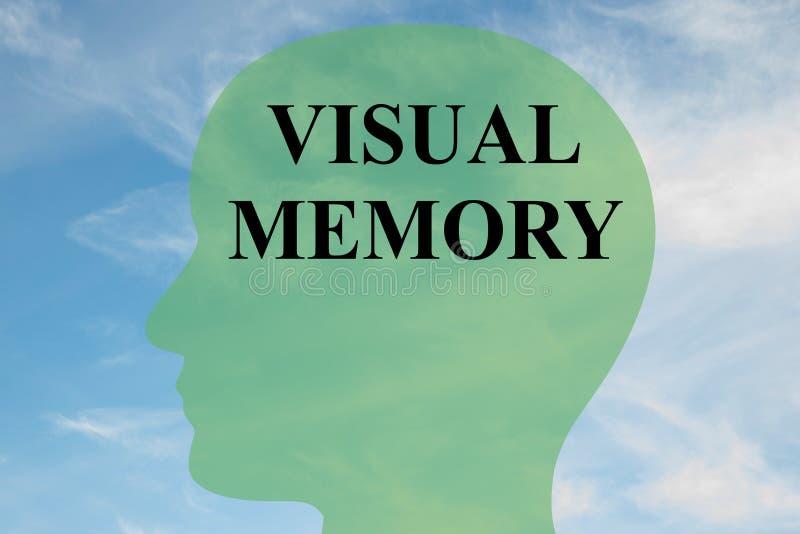 Sichtgedächtniskonzept vektor abbildung