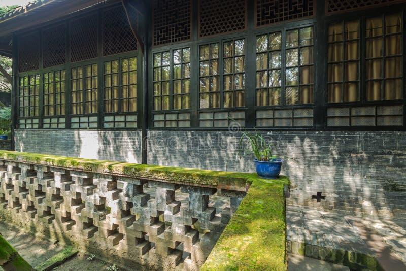 Sichuan αρχαίο προαύλιο στοκ φωτογραφία με δικαίωμα ελεύθερης χρήσης