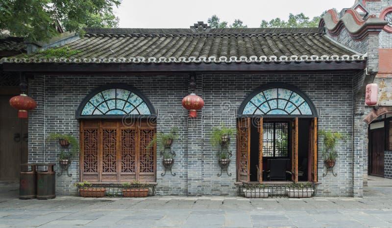 Sichuan AnRen αρχαία κτήρια στοκ εικόνα με δικαίωμα ελεύθερης χρήσης