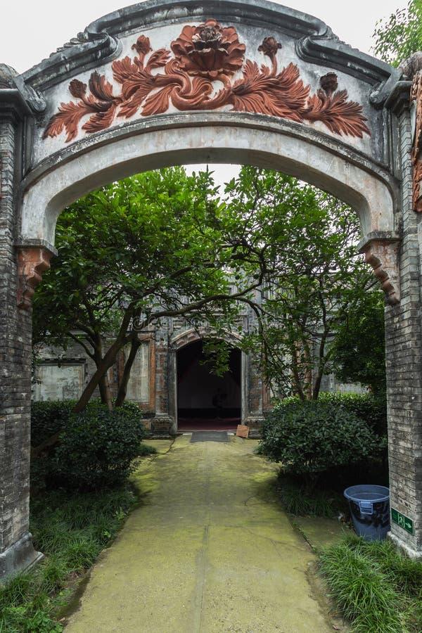 Sichuan AnRen αρχαία κτήρια στοκ εικόνες με δικαίωμα ελεύθερης χρήσης