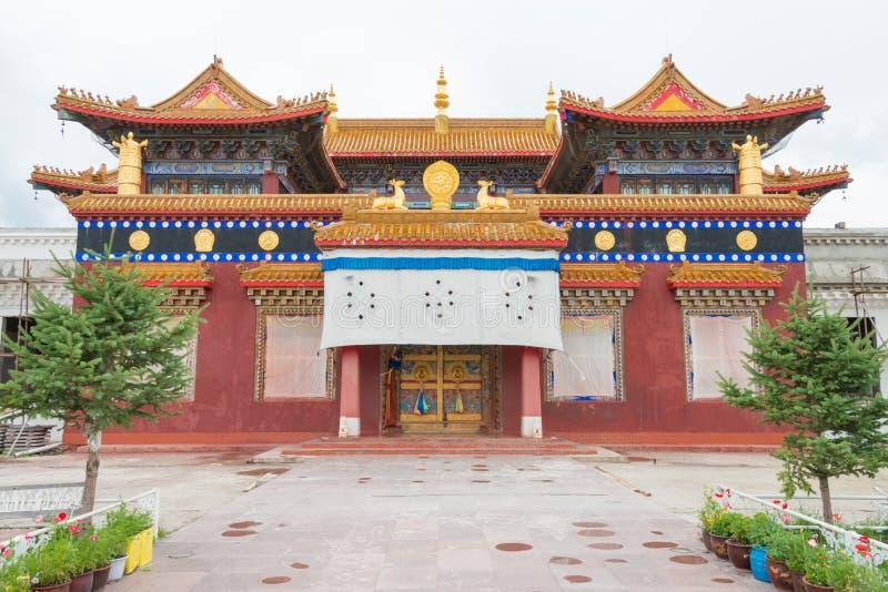 SICHUAN, CHINE - 15 JUILLET 2014 : Parc blanc de pagoda un landma célèbre photos libres de droits