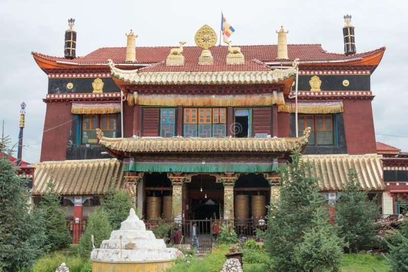 SICHUAN, CHINE - 15 JUILLET 2014 : Temple de Degongbu (temple de Hans image libre de droits