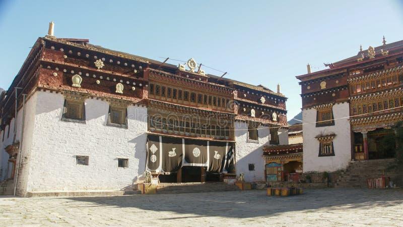 Sichuan do templo do tibetano de China fotos de stock royalty free