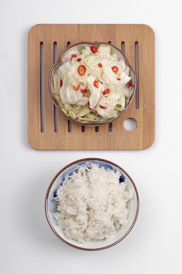 Sichuan Kimchi, buongustaio fotografia stock libera da diritti