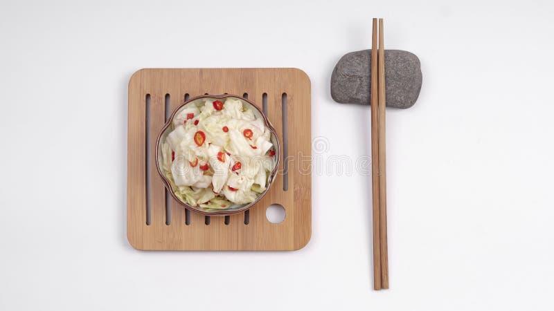 Sichuan Kimchi, buongustaio immagine stock