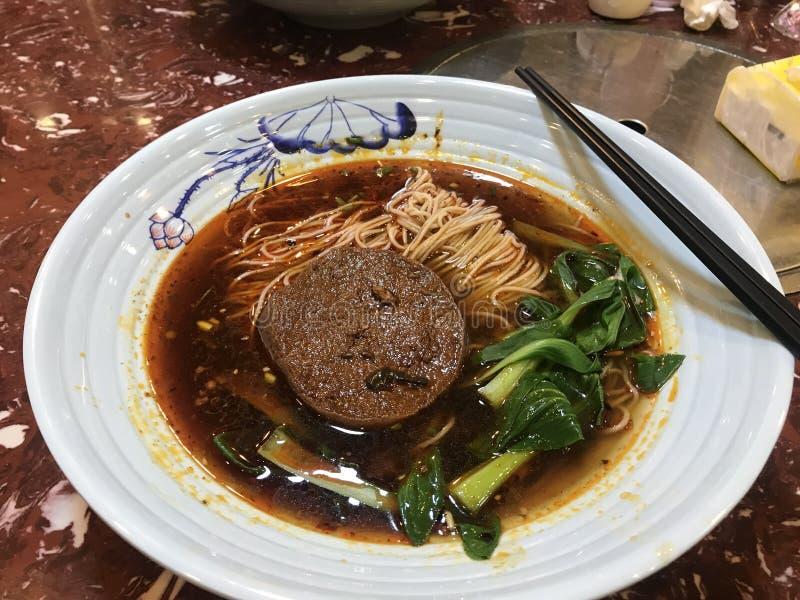 Sichuan korzenni gorący kluski obraz stock