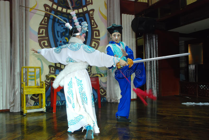 Download Sichuan Opera editorial stock photo. Image of background - 20005003