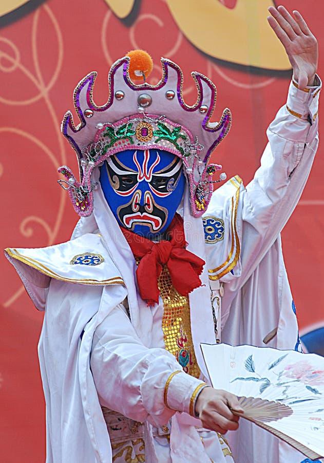 Sichuan opera_4 stock foto's