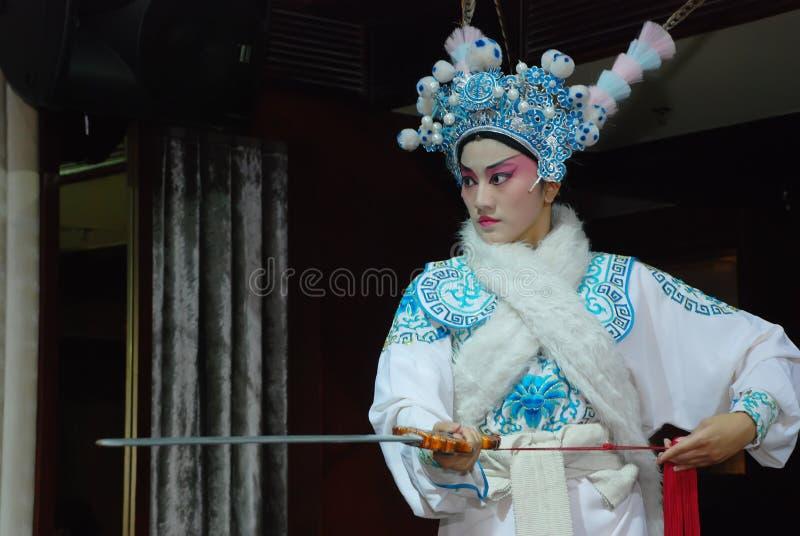 Sichuan Opera actress stock photography