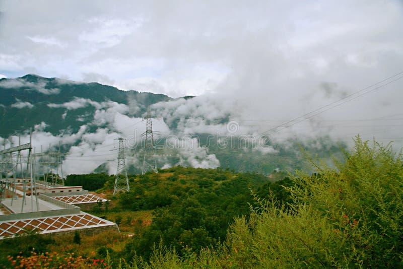 sichuan-tibet highway stock photo