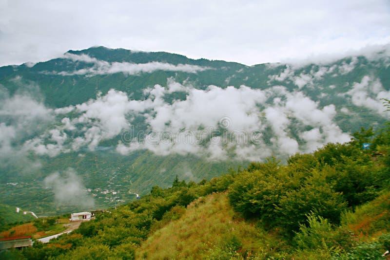 sichuan-tibet highway stock image