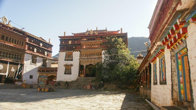 Sichuan van de Tibetaanse tempel van China royalty-vrije stock foto
