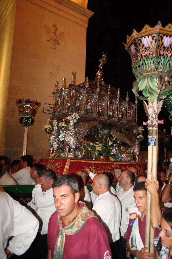 Sicilia-Noto-Festività di San Corrado immagine stock