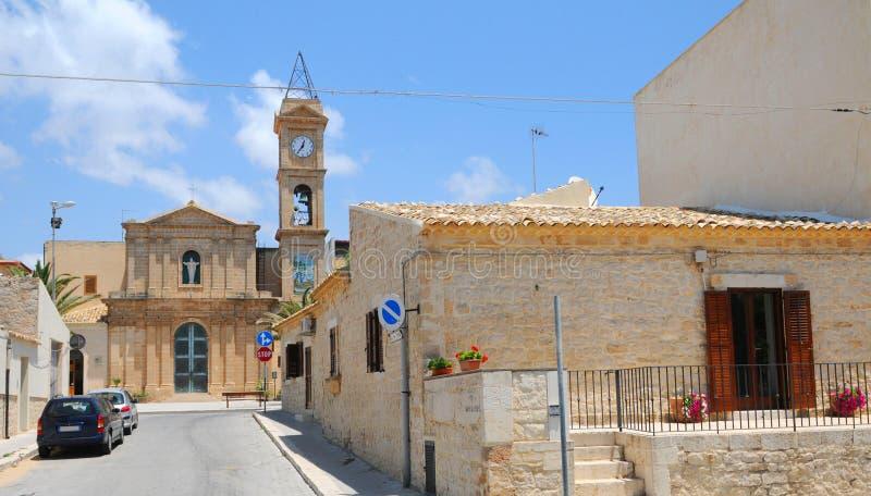 sicilian arkitektur royaltyfri fotografi