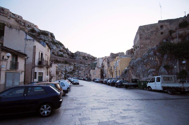 sicilian gata för plats royaltyfria bilder