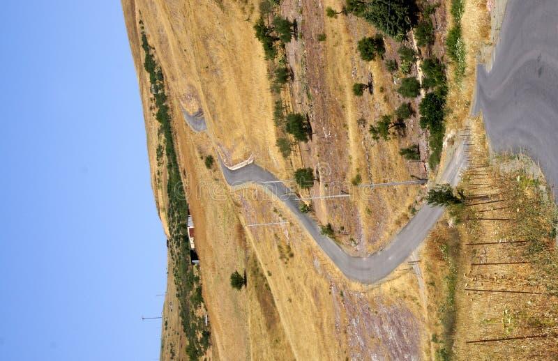 sicilian land royaltyfria foton
