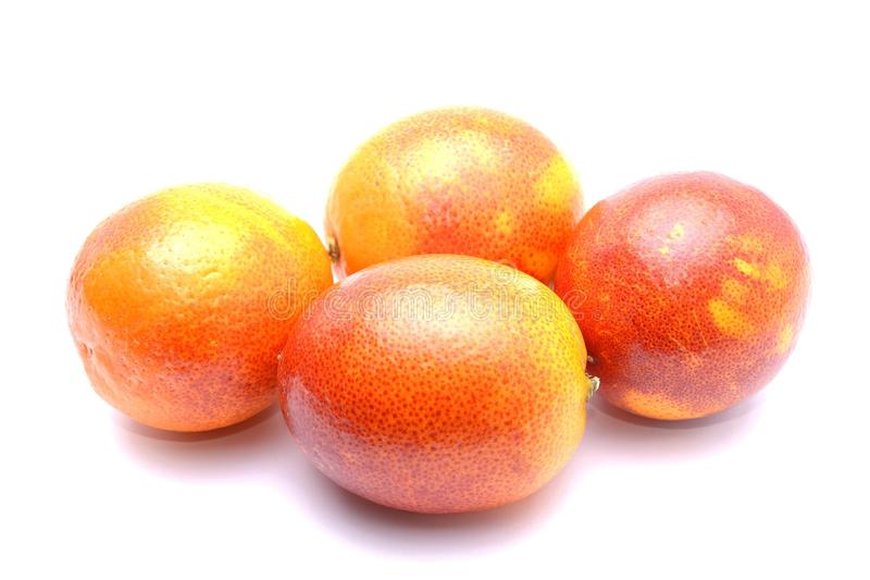 Sicilian red blood orange stock images