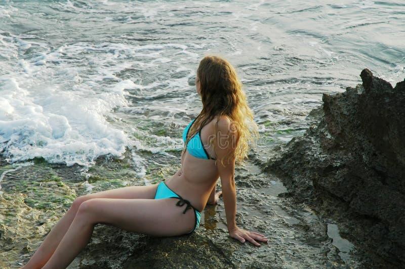 On Sicilian Rocks3 Stock Photography