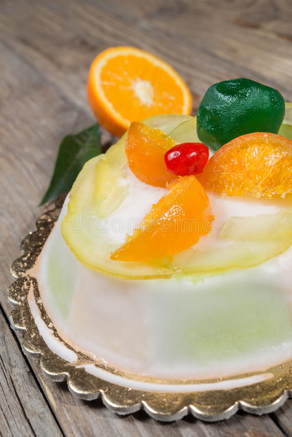 Siciliana de Cassata photo stock