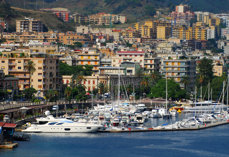 Sicily cityscape royalty free stock image