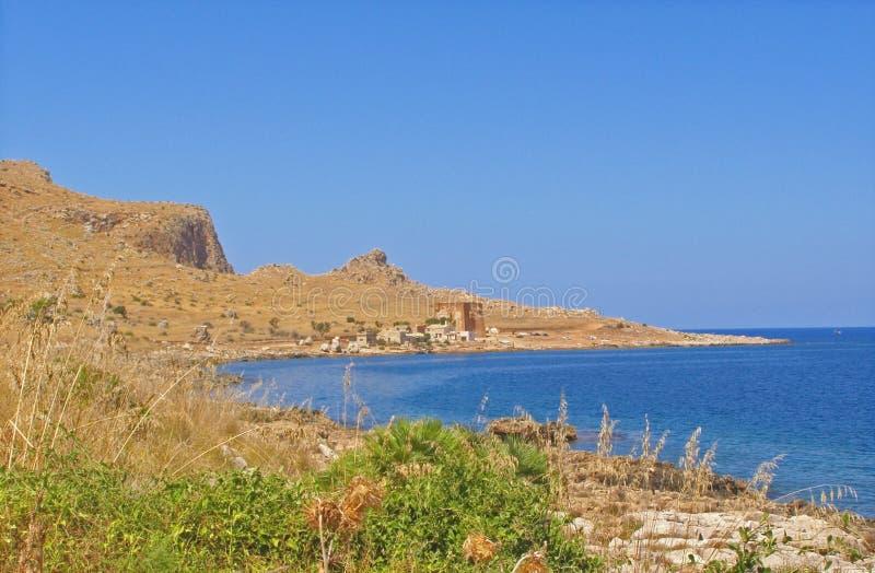 Sicily coast - Italy royalty free stock image